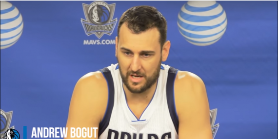 Andrew Bogut Media Day Interview | Dallas Mavericks | 2016-17 NBA Season