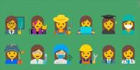 Google Designs Emojis depicting Professional Women