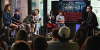 BUILD Series Presents Millie Bobby Brown, Gaten Matarazzo, Noah Schnapp, Natalia Dyer, Finn Wolfhard And Caleb McLaughlin Of 'Stranger Things'
