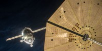 Expedition 46 Soyuz Docks With ISS
