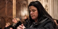 New York Catholics Attend Ash Wednesday Mass