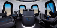 Space Tourism Capsule Of Blue Origin Comes With Great Interior And Large Windows