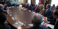 Trump Attends Panel Discussion On Opioid Addction At White House